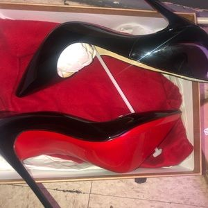 Christian Loubs run small wear a 9 I got size 11